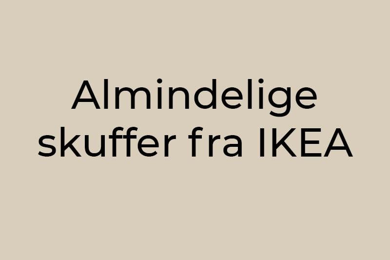 alm-skuffer